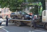 В Калуге за сутки эвакуируют до 14 машин