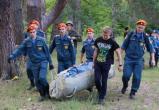 Спасатели провели тренировку по поиску пропавших в лесу