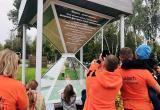 В Калуге установили памятник потерянному времени