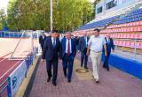 """Губернатор лично проверил безопасность стадиона """"Анненки"""""""