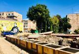 Качели, лаванда, Чижевский: в Калуге строят футуристический сквер