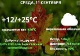 Прогноз погоды в Калуге на 11 сентября