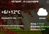 Прогноз погоды в Калуге на 19 сентября