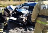Автомобилист погиб в результате лобового столкновения