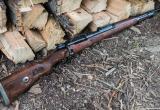 Мужчина нашел военную винтовку и переделал ее в обрез
