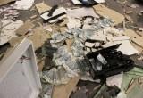 Неизвестные взорвали банкомат и похитили миллионы