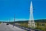 Новую ракету возводят на въезде в Калугу