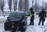 Микроавтобус и две легковушки столкнулись на Московской