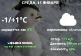 Прогноз погоды в Калуге на 15 января