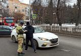 В центре Калуги произошло ДТП с маршруткой