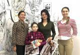 Юная калужанка посетила офис Всемирного фонда дикой природы