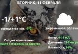 Прогноз погоды в Калуге на 11 февраля