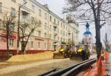 Ремонт Московской опережает график на 10 дней