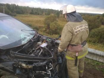 В Калужской области произошло ДТП. Есть пострадавшие