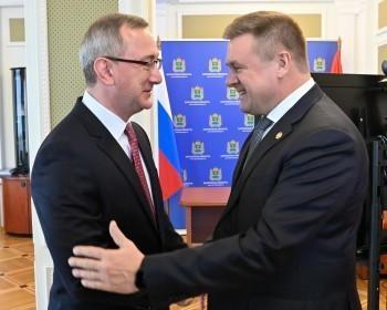 Владислав Шапша встретился с Николаем Любимовым