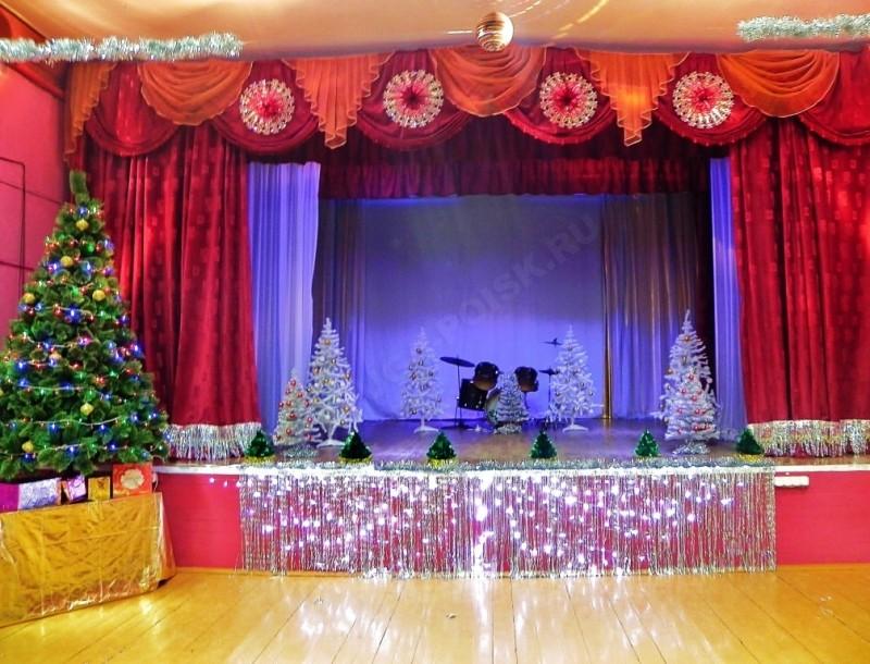 Как украсит дом культуры на новый год