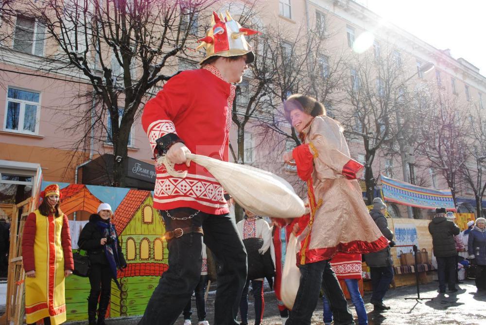 Сценарий народного гулянья на площади