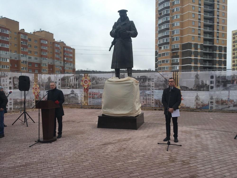 Открытие памятника Краснопивцеву