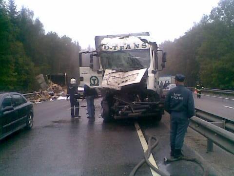 М-3 Украина 163 км ДТП Калужская область 10.09.2013